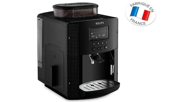 Test expresso broyeur Krups Essential YY8135FD